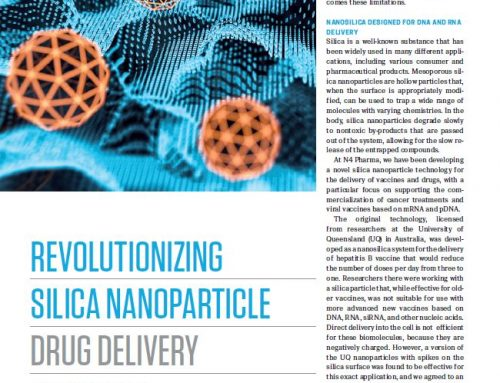 Nigel Theobald on revolutionising silica nanoparticle drug delivery
